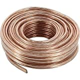 100 FT High Performance TRUE 12 Gauge AWG Speaker Wire for Car Home Audio 30M
