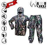 KwikSafety Camo Rain Suit Set | All Year Outdoor Recreati...