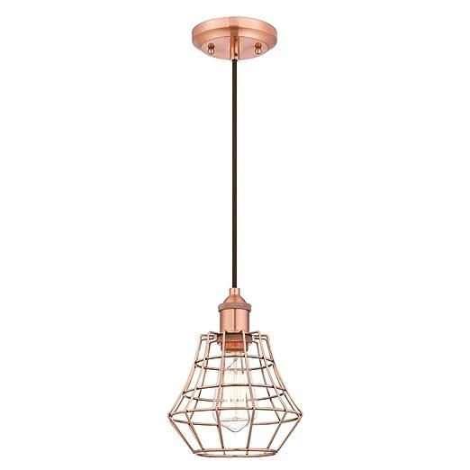 Westinghouse Lighting Lámpara de Techo Colgante de 1 Luz E27 ...