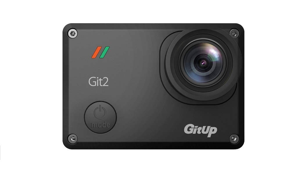 SILE GitUp Git2 2 K 30fps Novatek 96660 1080P 60fps Full HD WiFi cámara al aire libre impermeable Apoyo G-Sensor(with extra 10 accessories)