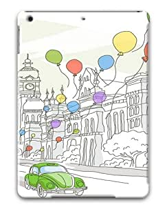 Travel Illustrations Polycarbonate Case Cover For Apple iPad Air/ iPad 5th Generation