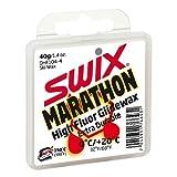 Swix DHF 104-4 Cera F Marathon High Performance First Layer Wax for New Snow, White, 40gm