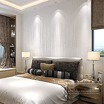 qihang 10m thickening white brick wallpaper for walls