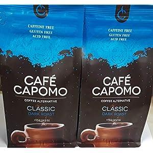 Capomo Herbal Coffee Substitute - Acid Free, Caffeine Free And Gluten Free - Natural Dark Roast - Organic Maya Nut , Ramon Seeds - 2 Pack From Tattva's Herbs 88