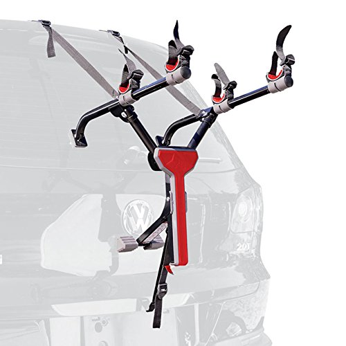 Allen Sports Ultra Compact Folding 2-Bike Trunk Mount Rack (Best Bike Rack For Hatchback)