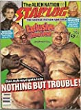 Starlog #164 (NM) Edward Scissorhands, Nothing but trouble, Creature Features