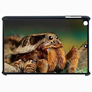 Customized Back Cover Case For iPad Air 5 Hardshell Case, Black Back Cover Design Spider Personalized Unique Case For iPad Air 5 wangjiang maoyi