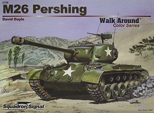 M26 Pershing - Armor Walk Around Color Series No. 6