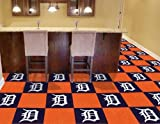 MLB - Detroit Tigers Carpet Tiles