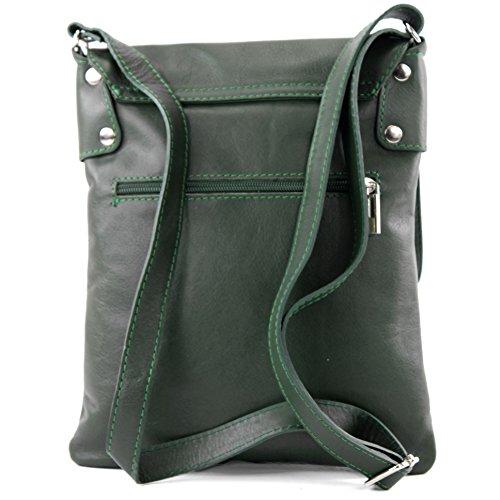 De De De Las Hombro Shoulder Señoras Mensajero Bolso Verde Cuero Oscuro Del T33 Del Modamoda Ital Del Bag Leather Ital T33 Messenger De Green Ladies Bolso Modamoda Bag Dark wtqdaZZ