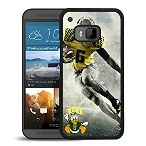 Fashionable And Unique Designed Cover Case With Oregon Ducks Black For HTC ONE M9 Phone Case