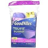 GoodNites Tru-Fit Underwear Starter Pack for Girls