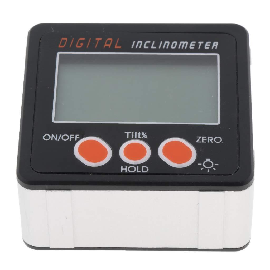 IP65 Homyl Inclinom/ètre Digital LCD Rapporteur dAngle Inclinaison