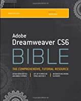 Adobe Dreamweaver CS6 Bible Front Cover