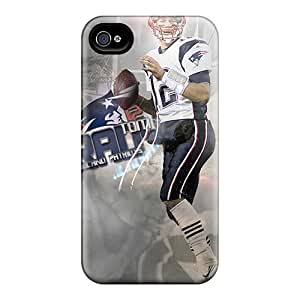 Shock Absorption Hard Phone Covers For Iphone 6plus (fLt19667NvxB) Unique Design Trendy New England Patriots Pictures