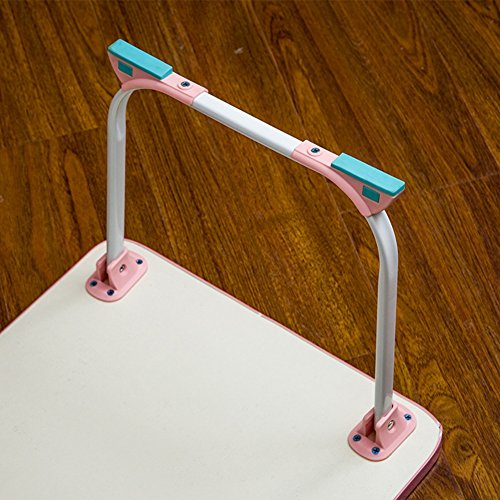 PENGFEI Foldable Laptop Stand for Desk Portable Bed Table Hospital Breakfast Tray College Students Dorm Room Learn Read, 4 Colors (Color : B, Size : 58x34x26CM) by PENGFEI-xiaozhuozi (Image #2)