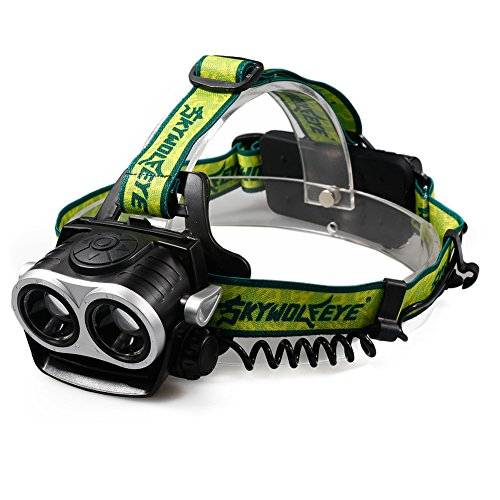 XM-L T6 LED Rechargeable Headlamp Headlight 1000LM Zoomable - 5