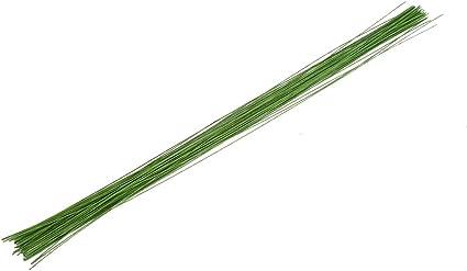 Decora 26 Gauge Brown Floral Wire 16 inch,50//Package
