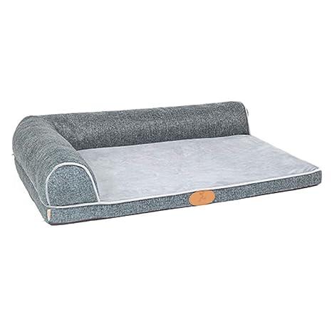 Cama perro Grande para Perros, Camas duraderas indestructibles y Lavables para Perritos de Perritos para
