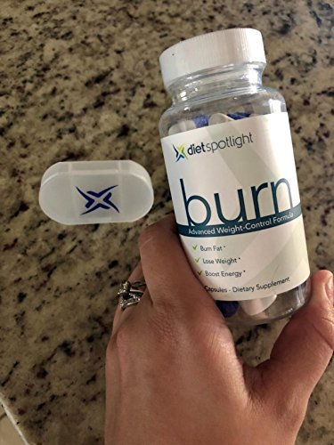 Dietspotlight Burn Weight Control Formula Plus - Increase Your Metabolism, Decrease Your Appetite, Safe & Effective Fat Burner (Best Foods To Eat With A Hiatal Hernia)