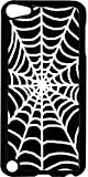 Spider Web Jacks Outlet TM Hard Black Plastic Case for the Apple iPod Touch 5th Generation