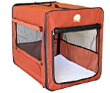 Go Pet Club Dog Soft Crate, 43-Inch by 28-Inch by 32-Inch, Brown Review