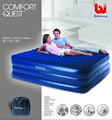 Bestway 67110N Premium Comfort - Colchón hinchable con bomba ...