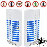 Atheone Electric Indoor Bug Zapper, Mosquito Killer, Insect and Fly Zapper Catcher Killer Trap with UV Night Sensor Light for Home, Office and Patio Indoor Use