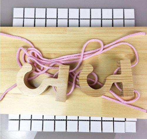 LYQZ Estante de almacenamiento Estante de almacenamiento Suspensión de madera Bastidores sencillos Estantería de zapatos...