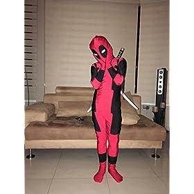 - 51DgSoORI5L - Riekinc Unisex Lycra Spandex Zentai Halloween Kids Cosplay Costumes