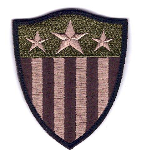 Velcro Multitan Shield Stars Stripes America US Flag Patch b