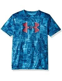 646647f7 Boys' Tech Big Logo Printed T-Shirt