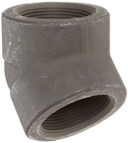 Anvil 2112 Forged Steel Pipe Fitting, Class 3000, 45 Degree Elbow, 4