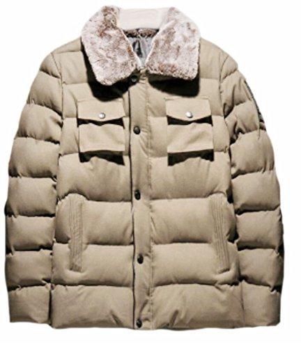 3 Winter Down Warm Jacket today Thicken Outerwear Mens Lightweight UK HqWxn4Za
