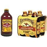 Bundaberg Ginger Beer Non-alcoholic Beverage (Australia) 12-pack 375ml