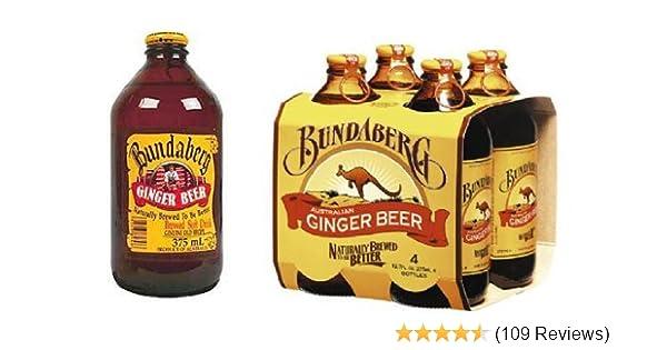 Bundaberg Ginger Beer Non Alcoholic Beverage Australia 12 Pack 375ml