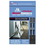 Ready America 4521 Universal Flat Screen Safety Straps by Ready America