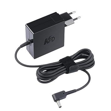 KFD 65W Cargador Adaptador de Corriente para ASUS VivoBook D540NA D540YA F556uj S15 S510UF Flip 12 TP203NA E406SA E402S X556U X541S X541SA ZenBook ...