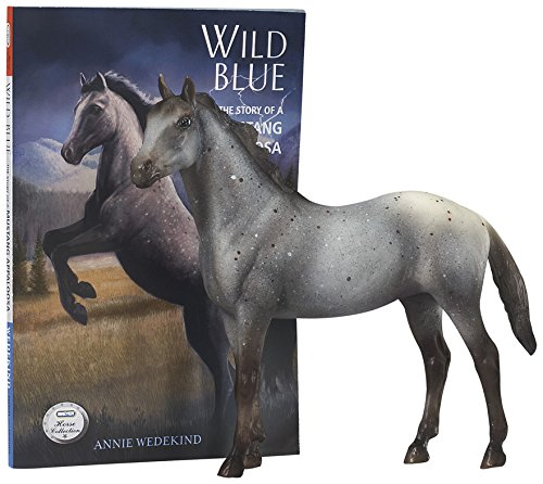 Breyer Horse Toys - Breyer Classics Wild Blue: Book and Horse Toy Set