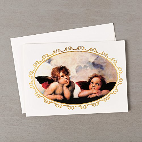 - Message Brands Sistine Cherubs Christmas Cards - Set of 20
