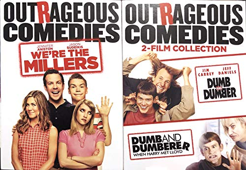 Stupid Guys Dumb & Dumber + Dumberer When Harry Met Lloyd Collection & We're the Millers Outrageous Comedies Set 3 Movie Funny Bundle ()