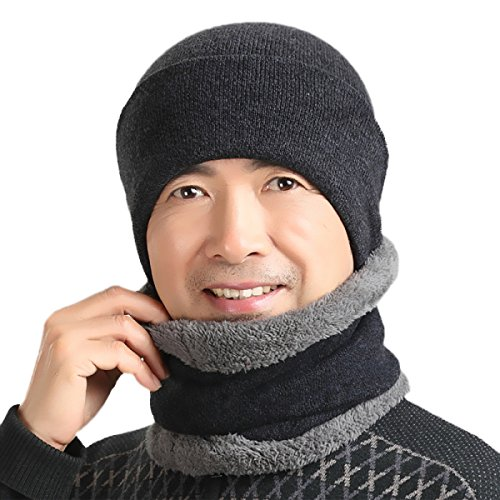 Black Para Máscara Sombrero Cálido De Oídos De Prueba Para Esquí A Con Unisex Patinaje Bombardero Ushanka Hombre Invierno De Viento Aleta De Senderismo De SOOCO USqPdU