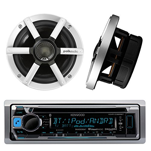 KMR D365BT Kenwood Bluetooth Component Speakers
