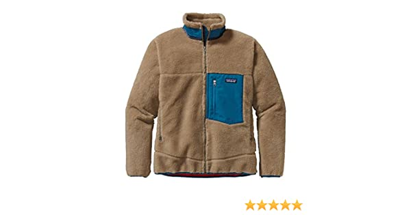 b45175954 Patagonia Men's Classic Retro-X Jacket, Ash Tan 2XL at Amazon Men's  Clothing store: