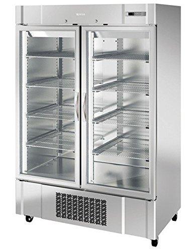 Infrico an49cr cristal doble puerta pantalla frigorífico, 1350 L ...