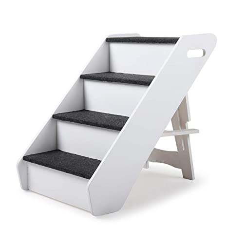 Miraculous Sandinrayli Dog Steps 4 Steps For High Bed Pet Stairs Small Dogs Cats Ramp Ladder Dailytribune Chair Design For Home Dailytribuneorg