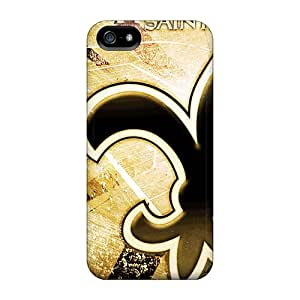 Iphone 5/5s Ptv9271lfEA Custom Trendy New Orleans Saints Skin Shock Absorbent Hard Cell-phone Case -DannyLCHEUNG