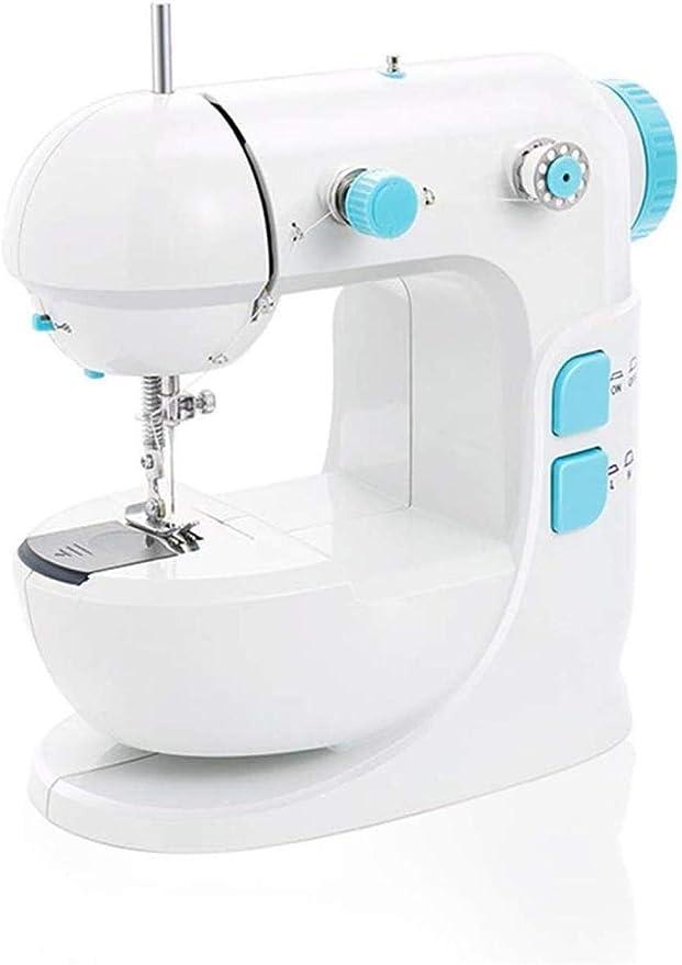 Máquina de coser portátil, máquina de coser manual con 12 puntadas ...