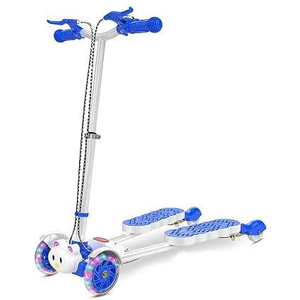 Amazon.com : Minmin Scooter feet Four-Wheeled Scissor ...