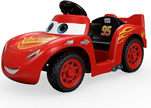 51DgWOAWW5L - Power Wheels Lil Lightning McQueen